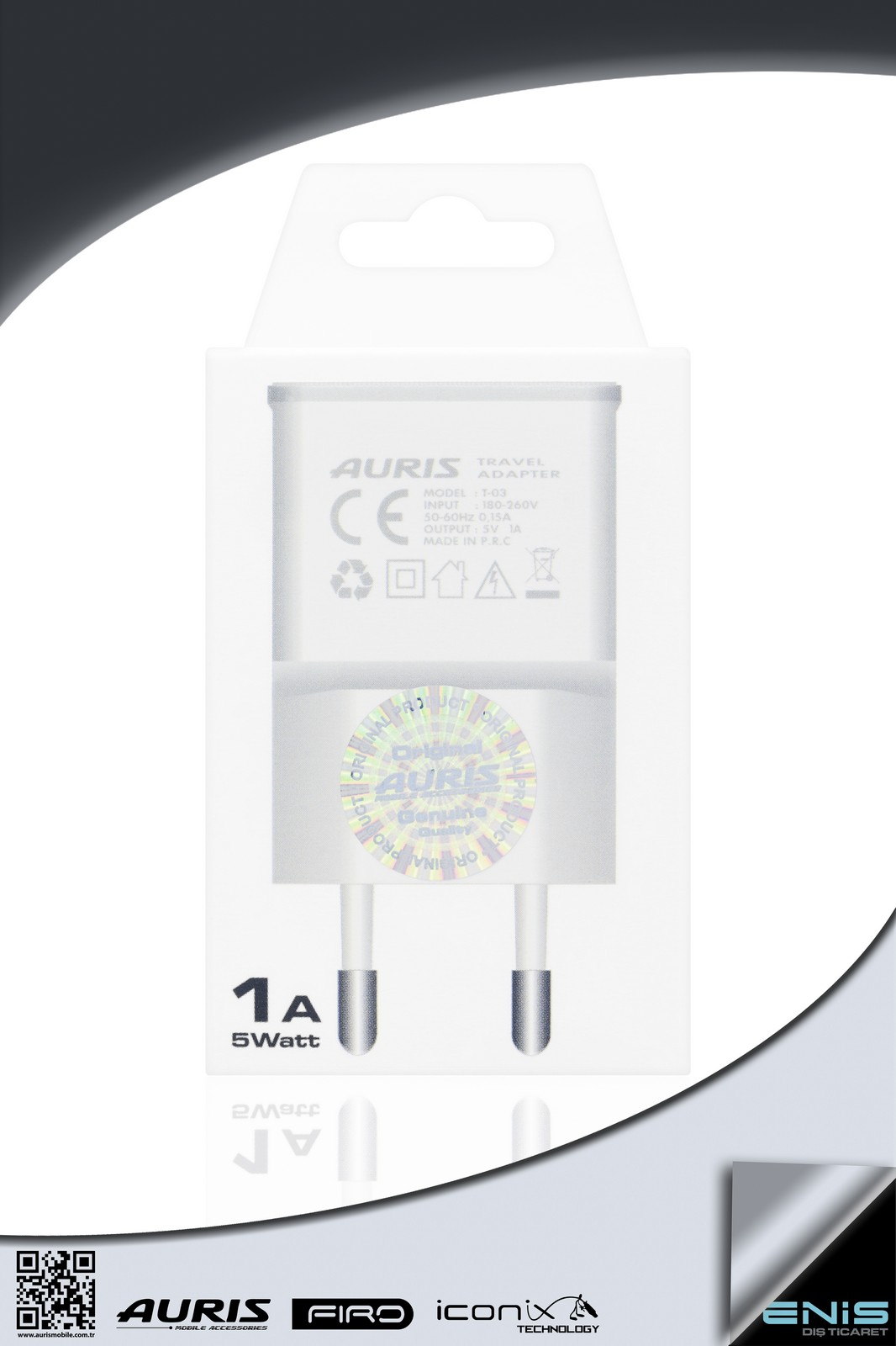 TRAVEL ADAPTER 1A