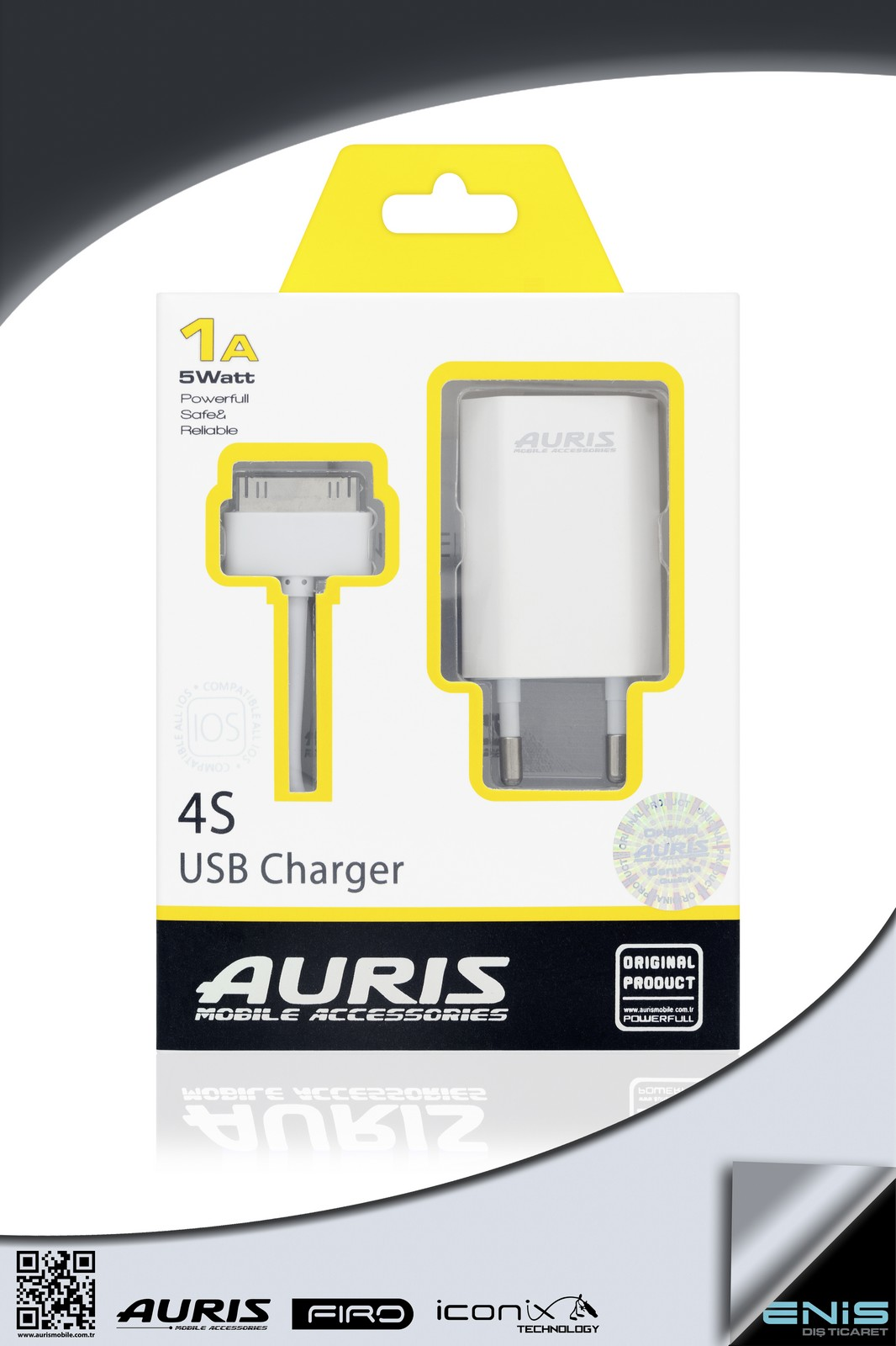 4S USB CHARGER 1A