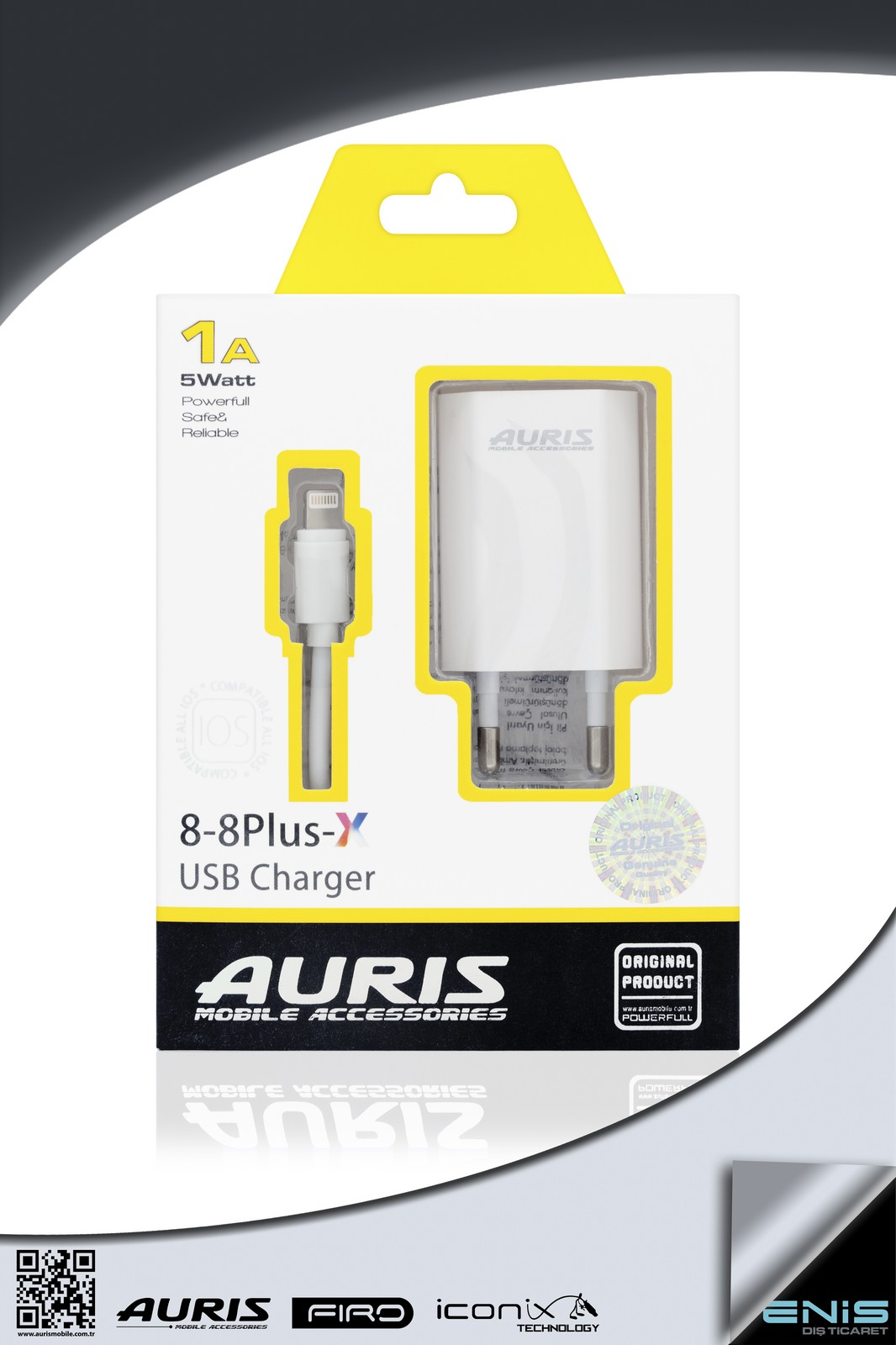 8-8PLUS-X USB CHARGER 1A