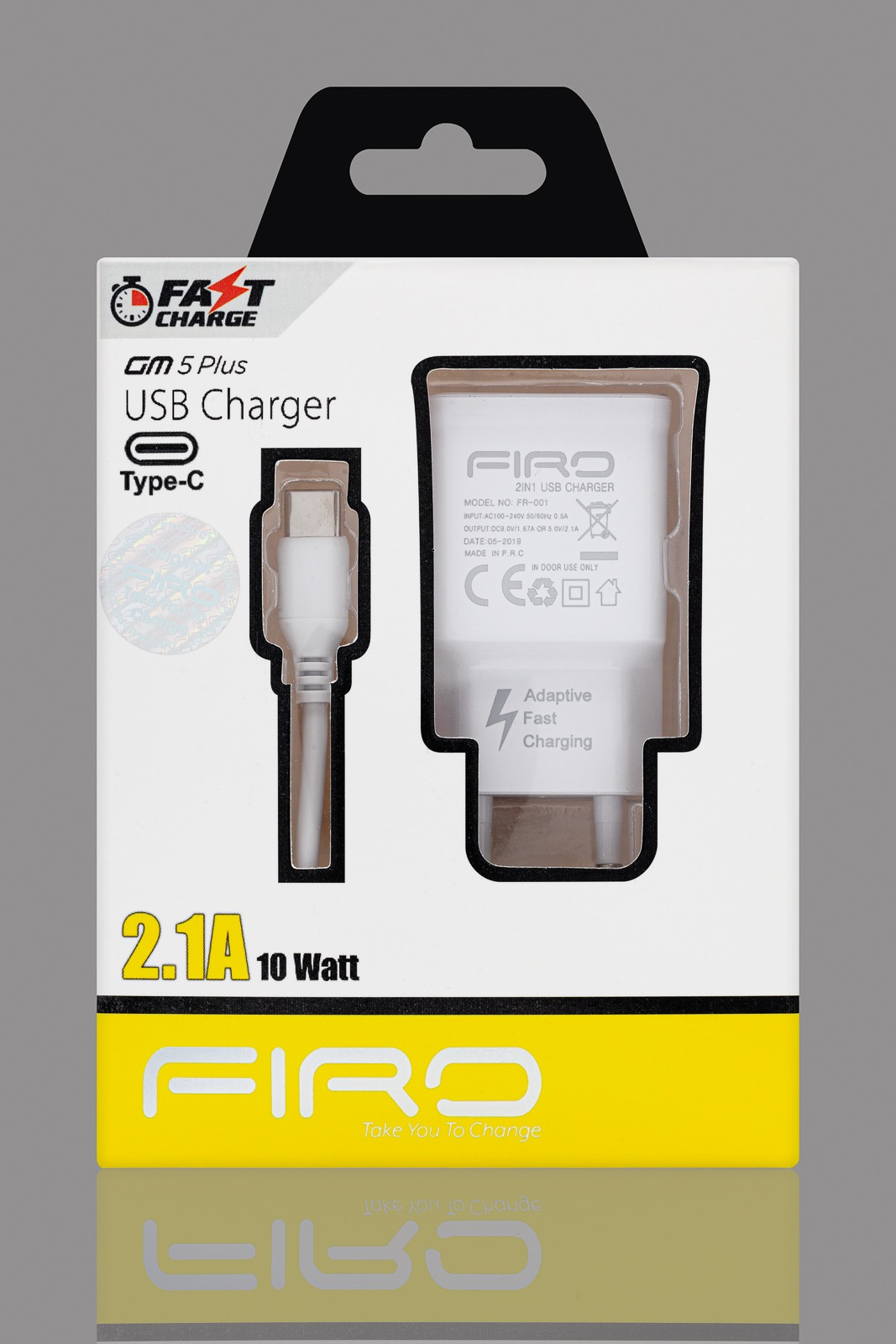 FIRO GM5 PLUS TYPE-C 2-1A 10W FAST CHARGE
