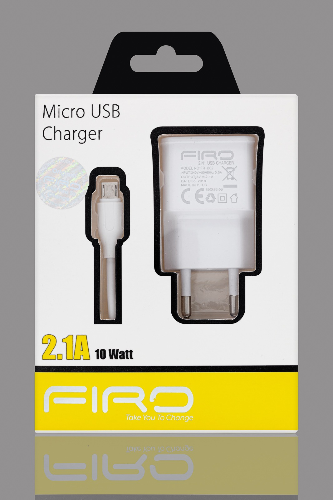 FIRO MICRO USB CHARGER 2-1A 10W