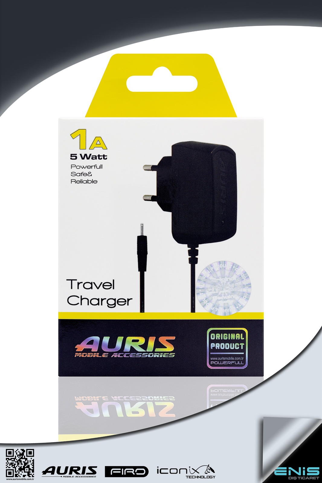 TRAVEL CHARGER 1A 5W