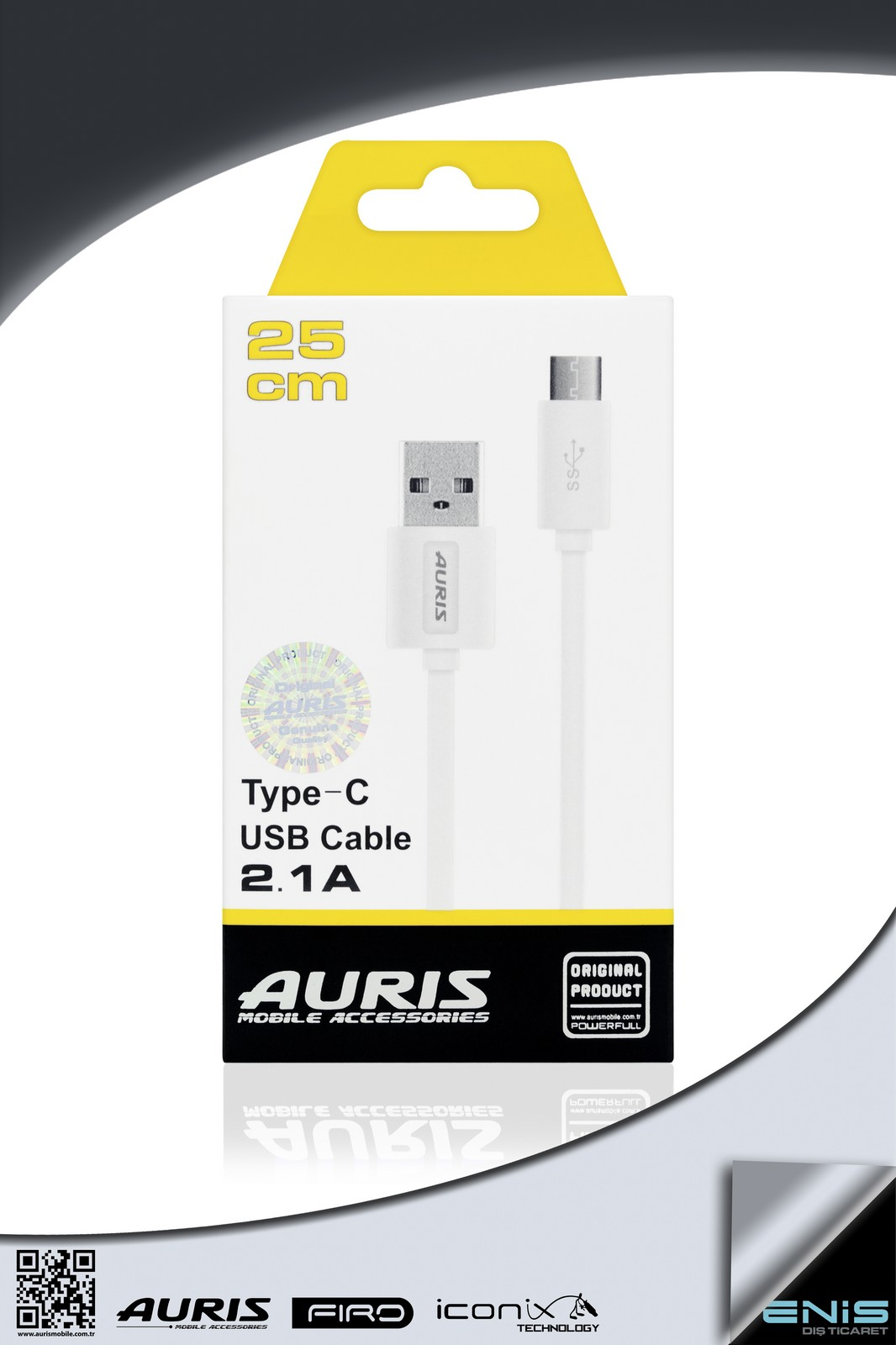25 cm Type - C 2.1 A Usb Cable