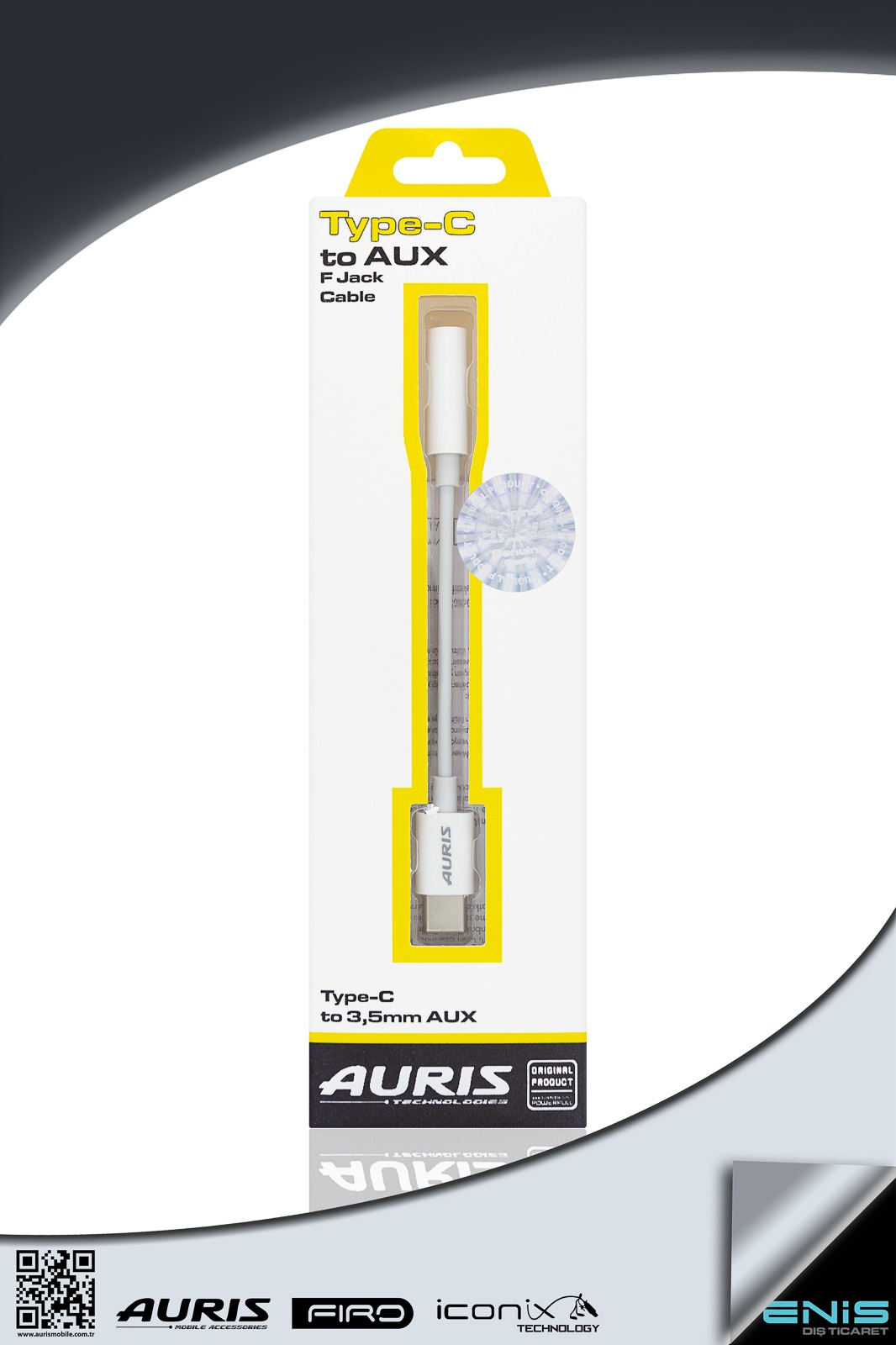 TYPE-C TO AUX F JACK CABLE