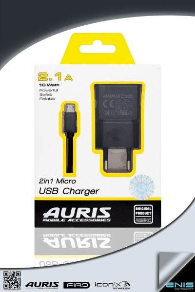 One Usb 2in1 Fast Charger Used For Micro Usb
