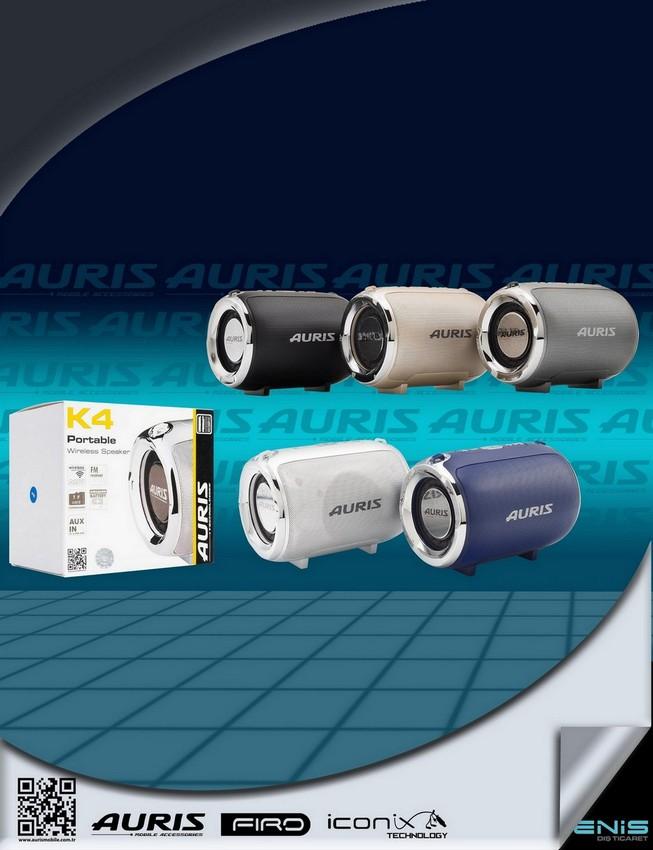 Auris K4 MÜzik Çalar