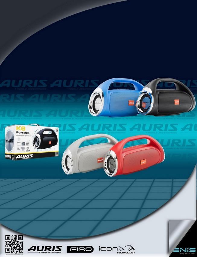 Auris K6 MÜzik Çalar