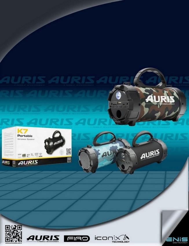 Auris K7 MÜzik Çalar