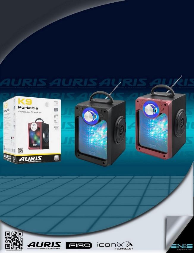 Auris K9 MÜzik Çalar