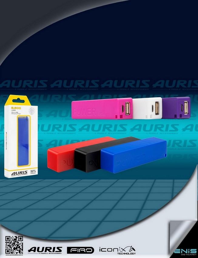 Auris 2.600 Mah Micro Usb Girişli Powerbank