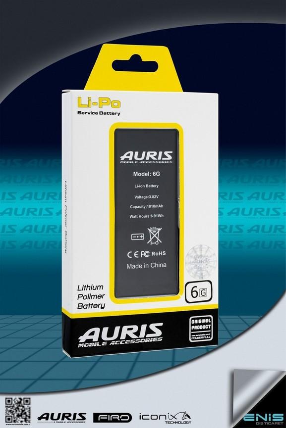 Aurıs 6G Lityum Polimer Batarya
