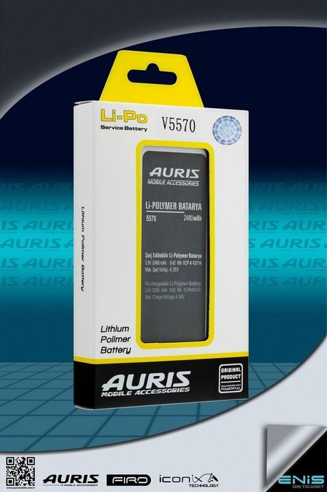 Auris V5570 Lithium Polimer Batarya ( Fiyat listesi için bizimle irtibata geçin )