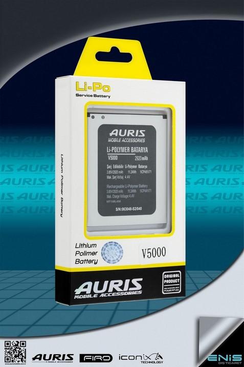 Auris V5000 Lithium Polimer Batarya ( Fiyat listesi için bizimle irtibata geçin )