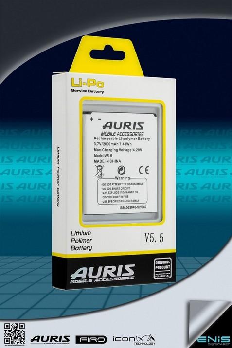 Auris V5.5 Lithium Polimer Batarya ( Fiyat listesi için bizimle irtibata geçin )