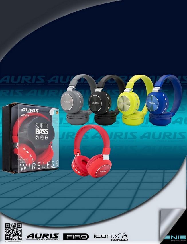 Ars-08 Metal BÜyÜk Bluetooth Kulaklık