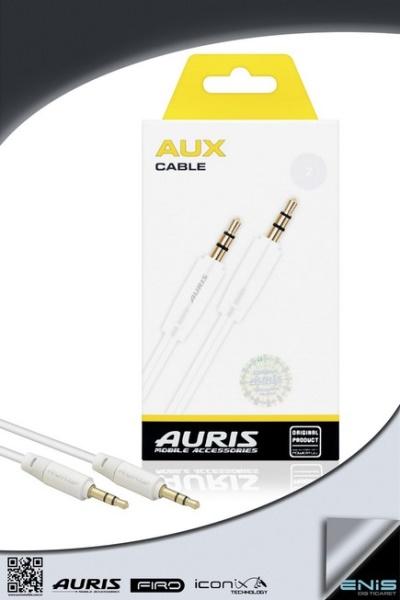 Auris Plastik Aux Kablo